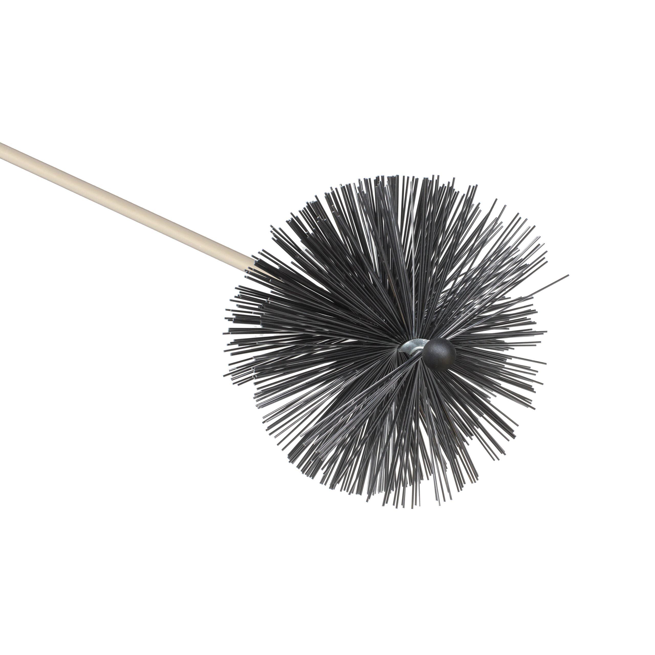 """10"""" Extra Hard Bristle Chimney Brush"""