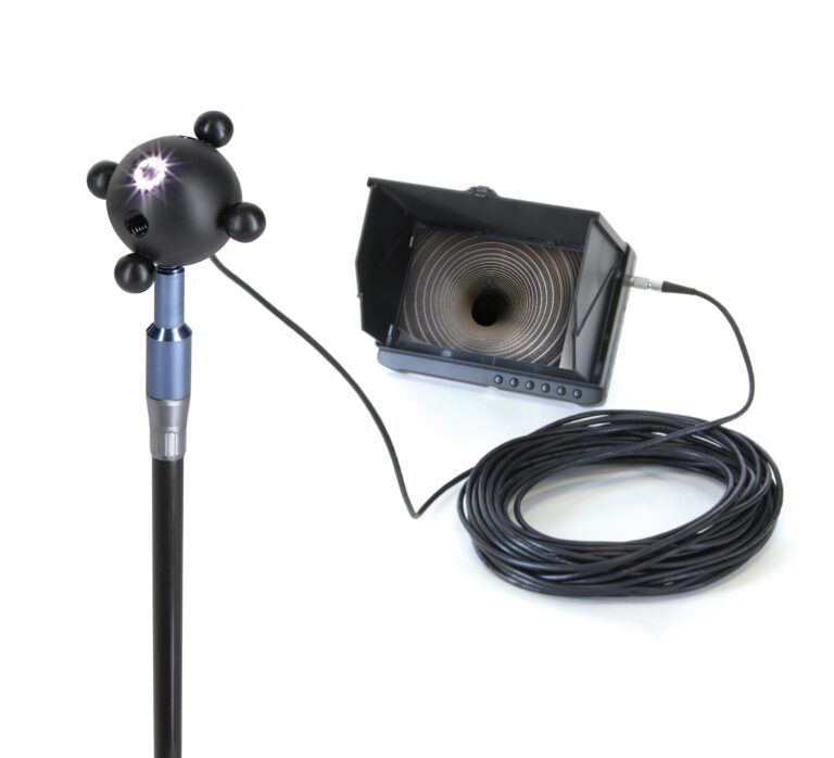 8LED Chimney Camera
