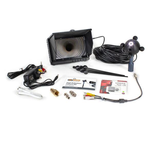 8LED Chimney Camera kit