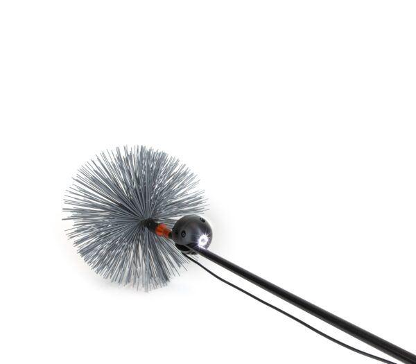 Chimney Camera clip on brush