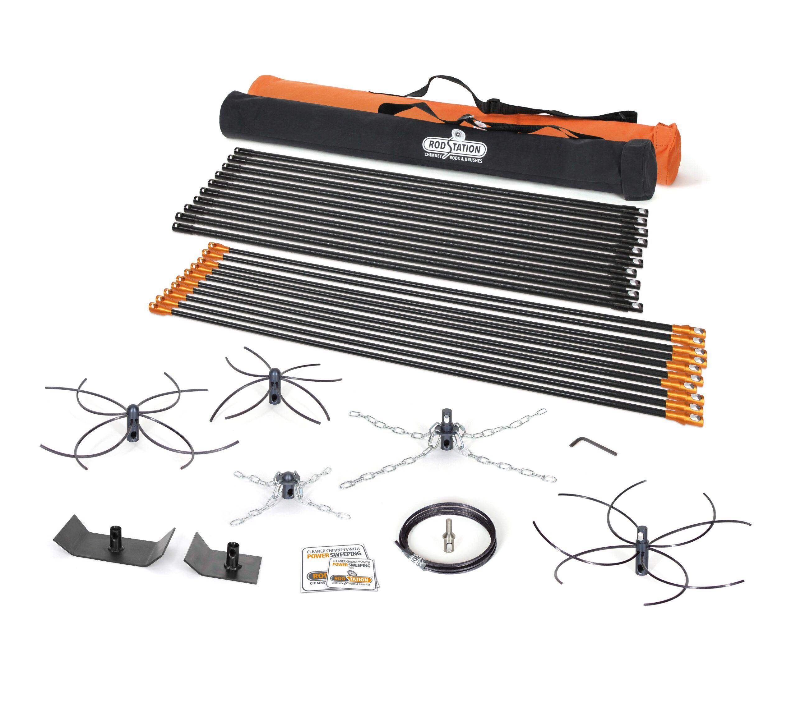 Full power sweeping kit