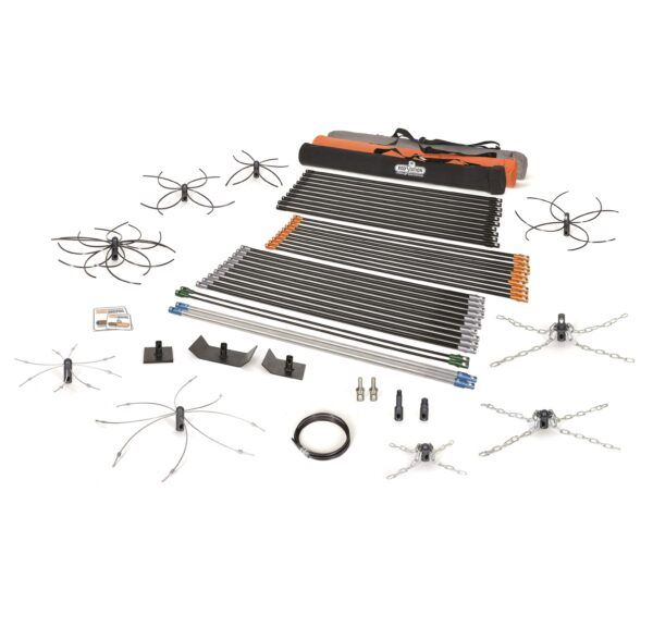 Professional power sweeping kit