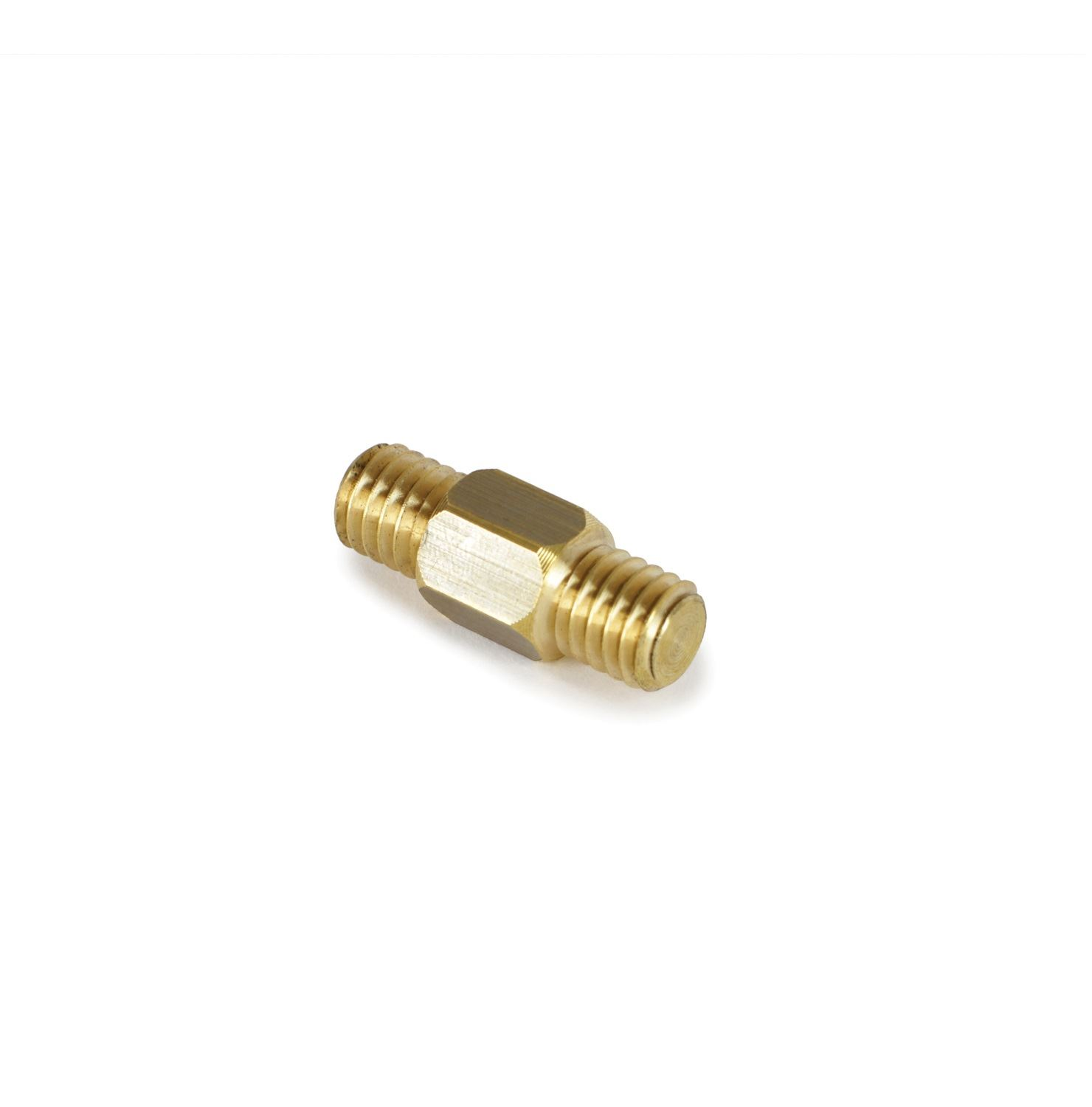 """Chimney rod adaptor from 1/2"""" Whitworth male to 1/2"""" Whitworth Adaptor male."""