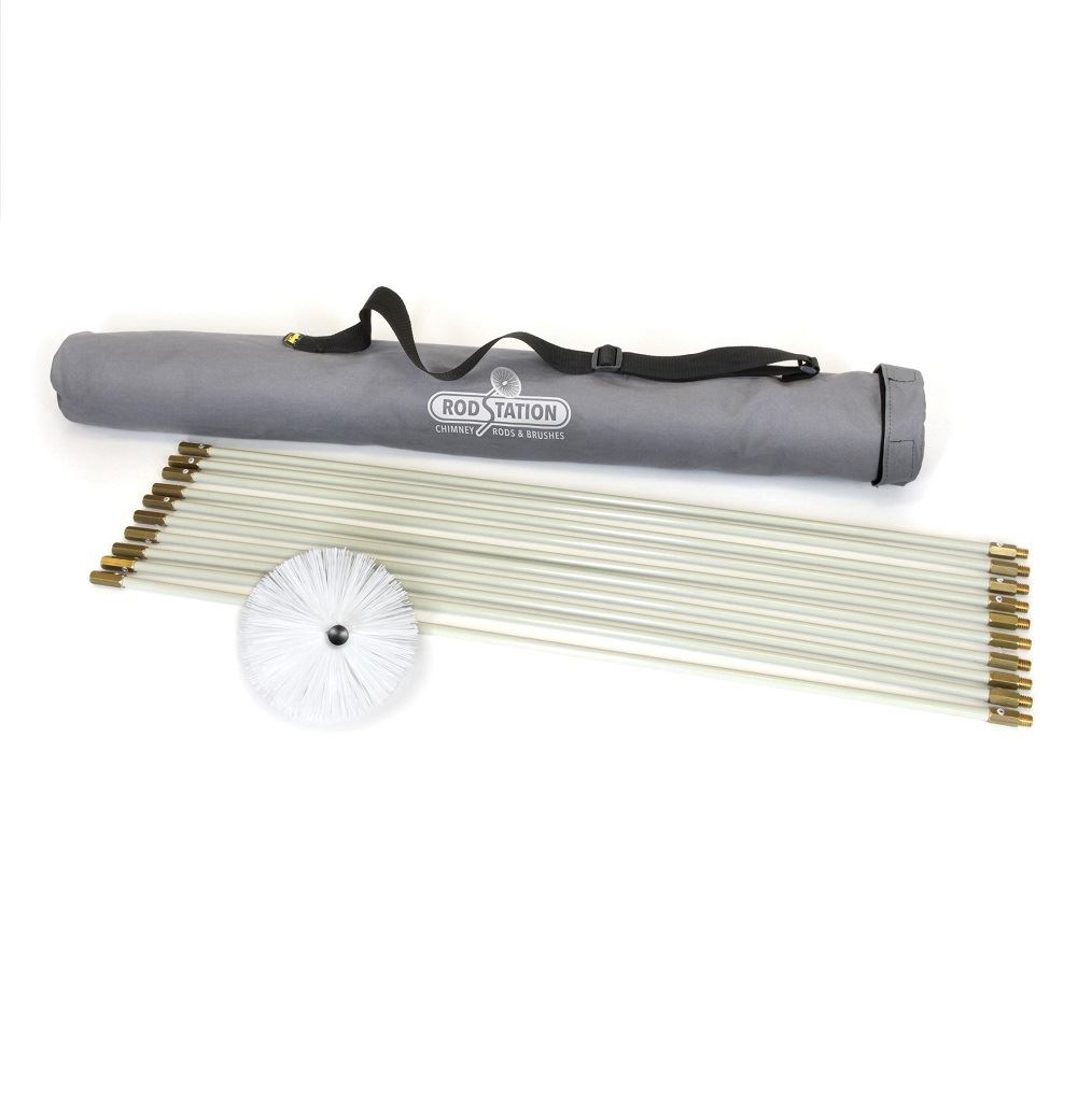 """Flexible Liner Sweeping Kit with 5"""" Brush"""