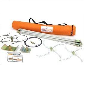 FlueBoss 'Twinclip' Open Fire Powersweeping Kit